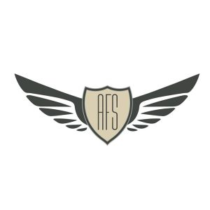 AFS logo, aviation logo avion, logo aviateur,
