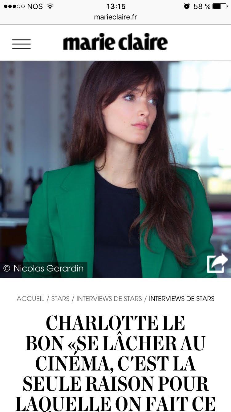 CharlotteleBon, MarieClaire