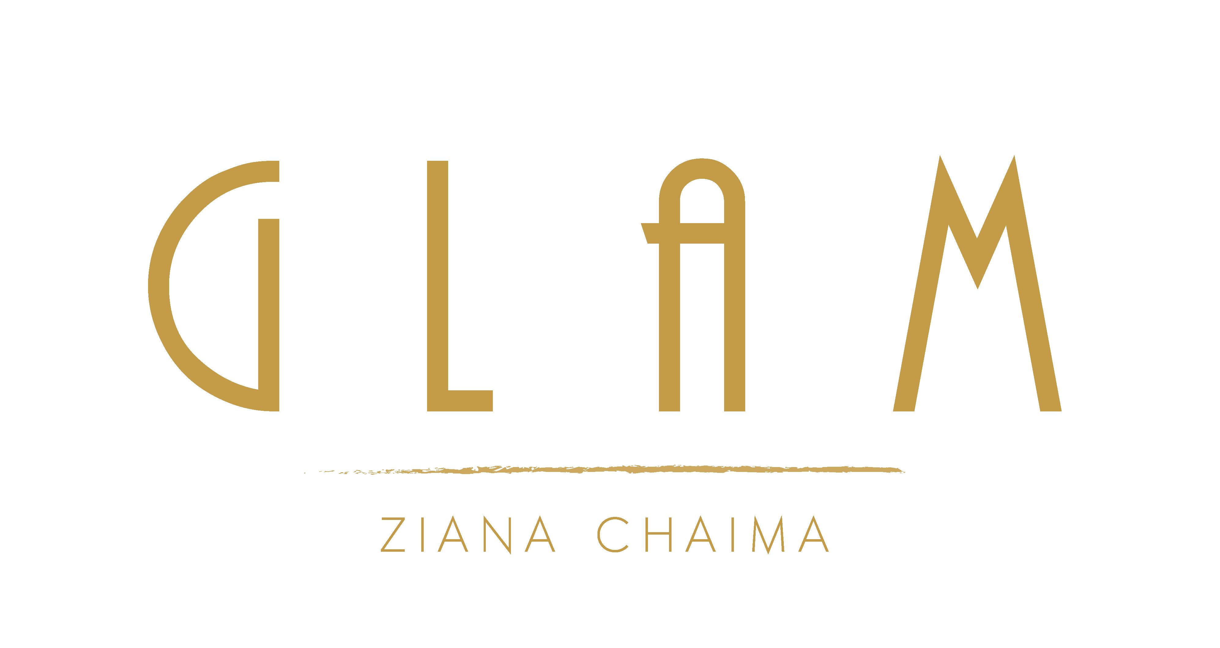 Logo Glam png, logochaimaziana, logoglam