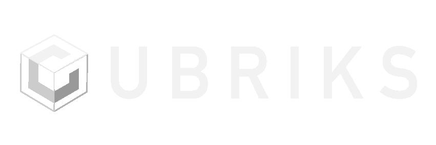 Logo blanc cubriks png